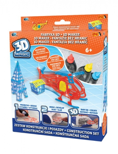 Zdjęcie 3D Magic Fabryka 3D Mega zestaw tematyczny
