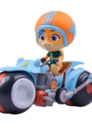 Zdjęcie 44 Koty - figurka Lampo na motocyklu - producenta SIMBA