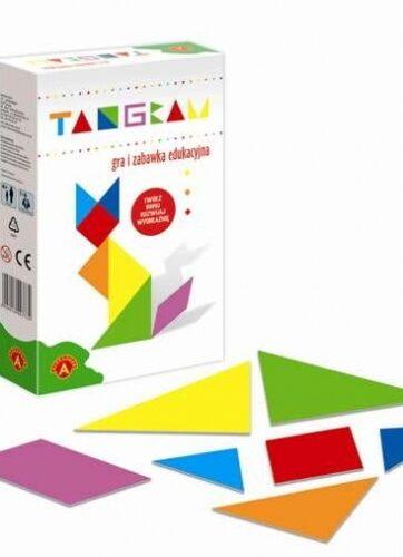 Zdjęcie ALEXANDER Mini Tangram - gra i zabawka edukacyjna - producenta ALEXANDER