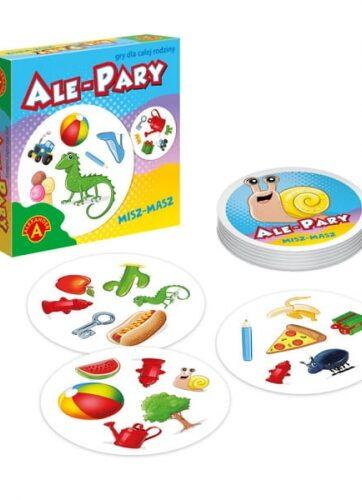Zdjęcie Ale pary Misz-Masz mała gra podróżna ALEXANDER - producenta ALEXANDER