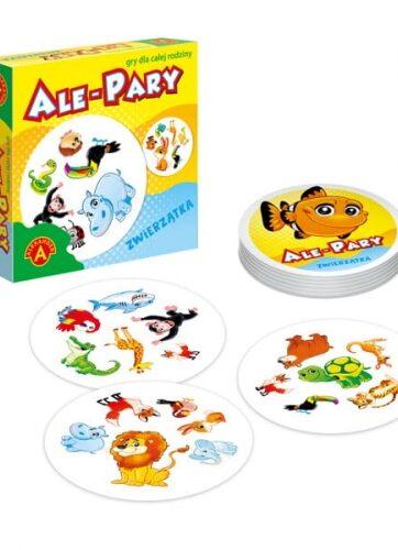 Zdjęcie Ale pary Zwierzątka mała gra podróżna ALEXANDER - producenta ALEXANDER