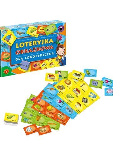 Zdjęcie Alexander Gra logopedyczna Loteryjka obrazkowa - producenta ALEXANDER