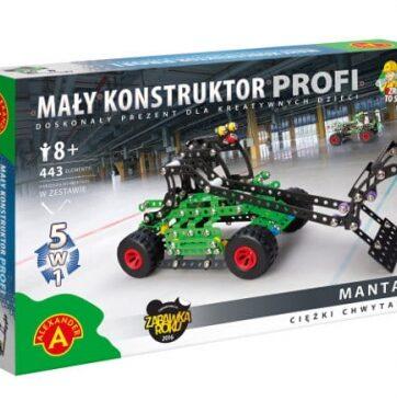 Zdjęcie Alexander Mały Konstruktor 5 w 1 - Manta 1 - producenta ALEXANDER