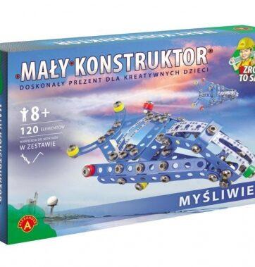 Zdjęcie Alexander Mały Konstruktor Kolorowy - Myśliwiec - producenta ALEXANDER