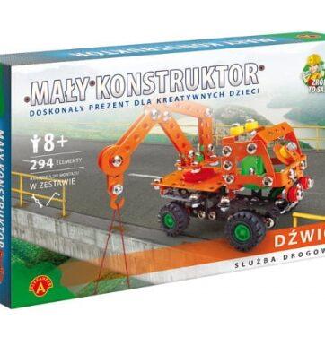 Zdjęcie Alexander Mały Konstruktor - Służba drogowa - Dźwig - producenta ALEXANDER