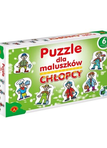 Zdjęcie Alexander Puzzle dla maluszków Chłopcy - producenta ALEXANDER