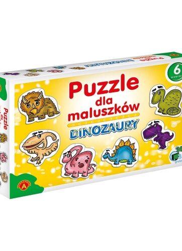 Zdjęcie Alexander Puzzle dla maluszków - Dinozaury - producenta ALEXANDER