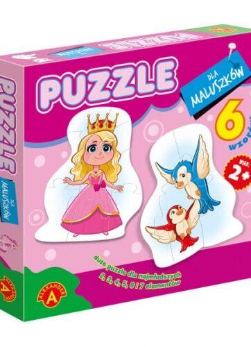 Zdjęcie Alexander Puzzle dla maluszków - Królewna - producenta ALEXANDER