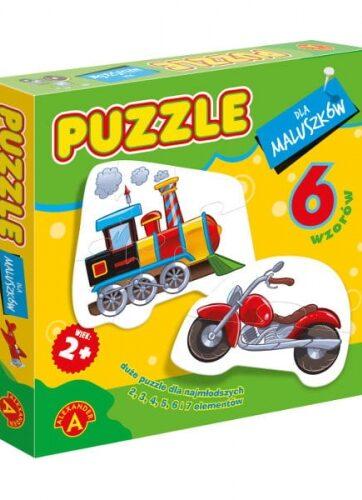 Zdjęcie Alexander Puzzle dla maluszków - Lokomotywa - producenta ALEXANDER