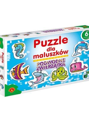 Zdjęcie Alexander - Puzzle dla maluszków Podwodne zwierzęta - producenta ALEXANDER