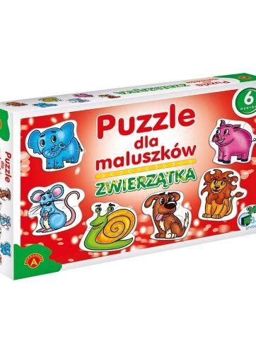 Zdjęcie Alexander Puzzle dla maluszków Zwierzątka - producenta ALEXANDER