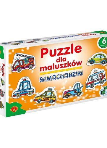 Zdjęcie Alexander Puzzle dla maluszków - samochodziki - producenta ALEXANDER