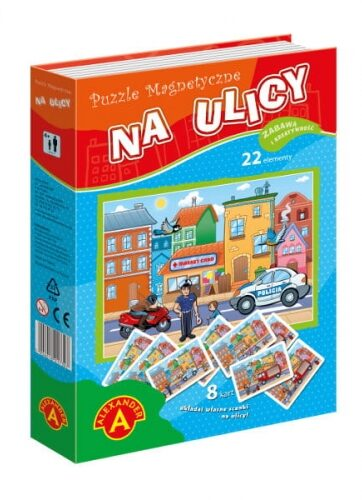Zdjęcie Alexander Puzzle magnetyczne - Na ulicy - producenta ALEXANDER