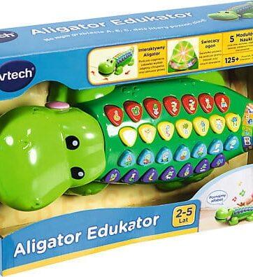 Zdjęcie Aligator edukator zabawka edukacyjna - VTech - producenta VTECH