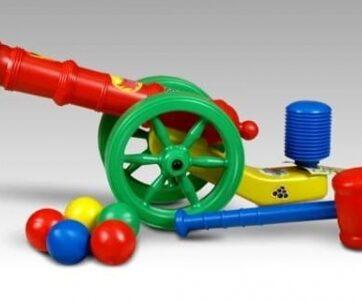 Zdjęcie Armatka z kolorowymi kulkami - producenta MARGOS