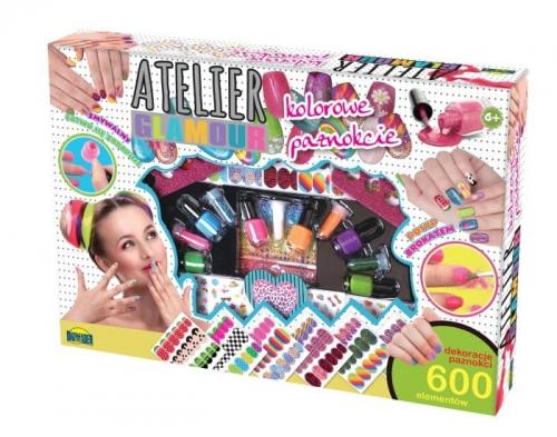 Zdjęcie Atelier Glamour Kolorowy zestaw do paznokci - producenta DROMADER