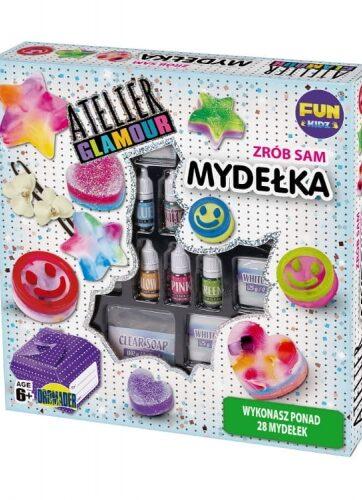 Zdjęcie Atelier Glamour zestaw do robienia mydełek - producenta DROMADER