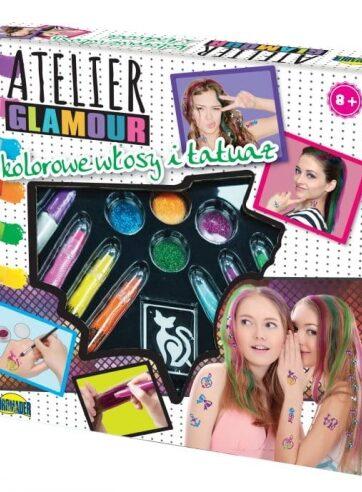 Zdjęcie Atelier Glamour zestaw do włosów i tatuaży - producenta DROMADER