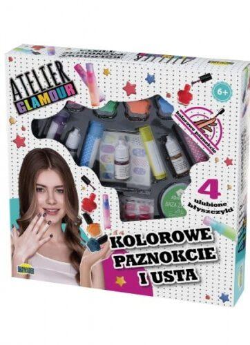 Zdjęcie Atelier Glamour zestaw kolorowe paznokcie usta - producenta DROMADER