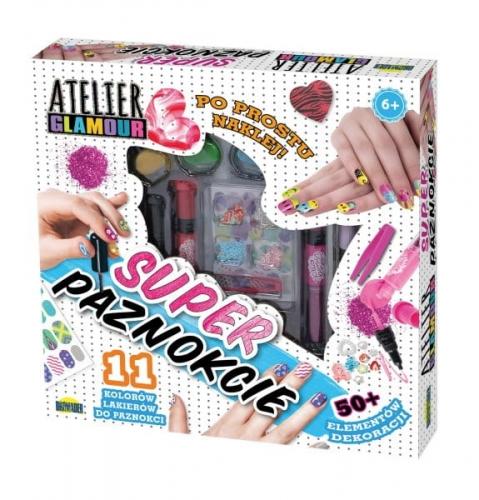 Zdjęcie Atelier Glamour zestaw super paznokcie - producenta DROMADER