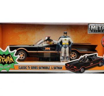 Zdjęcie Auto Batmobile Classic 1966 Batman 1:24 - producenta DICKIE