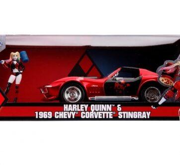 Zdjęcie Auto Chevy Corvette Stingray 1969 1:24 - producenta DICKIE