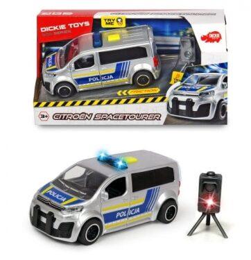 Zdjęcie Auto Citroen SpaceTourer - Policja 15cm - DICKIE - producenta DICKIE