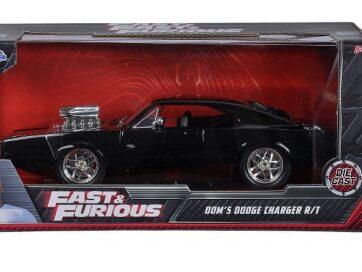 Zdjęcie Auto Fast&Furious Szybcy i wściekli 1970 Dodge Charger 1:24 - producenta DICKIE