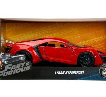 Zdjęcie Auto Fast&Furious Szybcy i wściekli Lykan Hypersport 1:24 JADA - producenta DICKIE