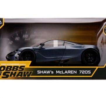Zdjęcie Auto Fast&Furious Szybcy i wściekli Shaw's McLaren 720S 1:24 JADA - producenta DICKIE