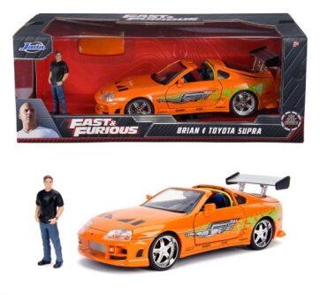 Zdjęcie Auto Fast&Furious Szybcy i wściekli Toyota Supra 1:24 - producenta SIMBA