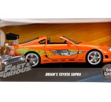 Zdjęcie Auto Fast&Furious Szybcy i wściekli Toyota Supra 1995 1:24 JADA - producenta DICKIE