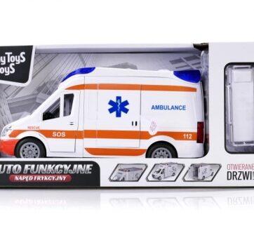 Zdjęcie Auto funkcyjne ambulans światło dźwięk - producenta ARTYK