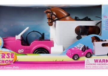 Zdjęcie Auto jeep z przyczepą do przewożenia z koniem - producenta EURO-TRADE