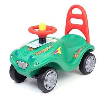 Zdjęcie Auto pojazd pchacz mini mobile zielony - producenta MARGOS