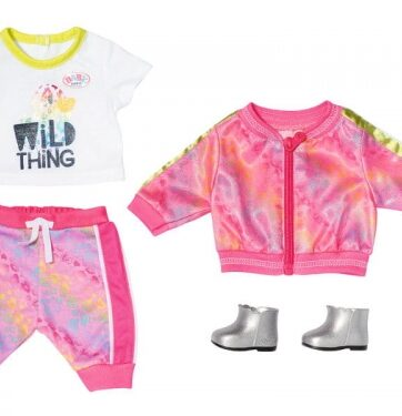 Zdjęcie BABY born® DeLuxe Różowy dres dla lalki 43cm - producenta ZAPF CREATION