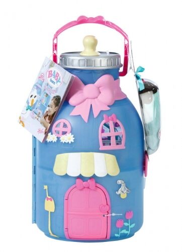Zdjęcie BABY born® Wielki domek butelka + lalka - producenta ZAPF CREATION