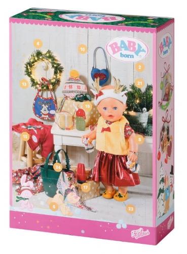 Zdjęcie BABY born® kalendarz adwentowy - akcesoria dla lalek - producenta ZAPF CREATION