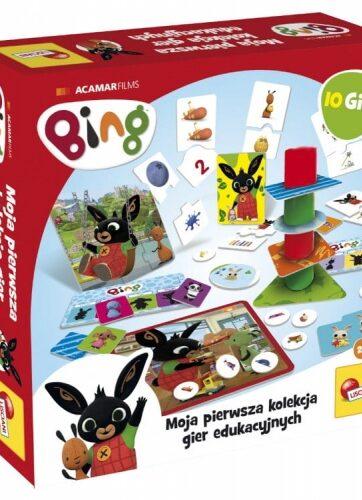 Zdjęcie BING Kolekcja 10 gier edukacyjnych - producenta LISCIANI GIOCHI