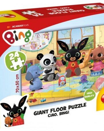Zdjęcie BING Ogromne puzzle podłogowe 24 elementy - LISCIANI - producenta LISCIANI GIOCHI