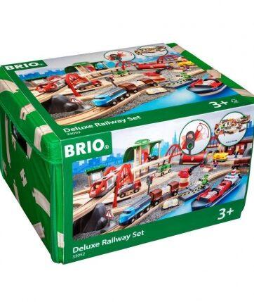 Zdjęcie BRIO 33052 Ogromna Kolejka z akcesoriami zestaw Deluxe - producenta RAVENSBURGER