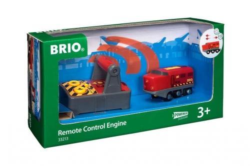 Zdjęcie BRIO 33213 Lokokomotywa Czerwona zdalnie sterowana - producenta RAVENSBURGER