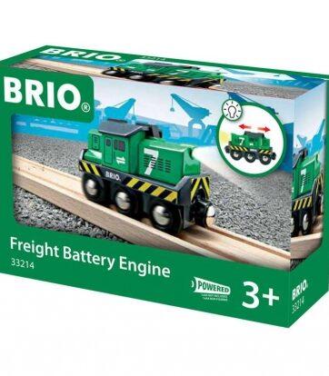 Zdjęcie BRIO 33214 Lokomotywa towarowa - producenta RAVENSBURGER