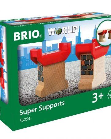 Zdjęcie BRIO 33254 Drewniane wsporniki do mostów - producenta RAVENSBURGER