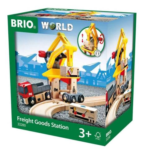 Zdjęcie BRIO 33280 Stacja załadunkowa z podnośnikiem - producenta RAVENSBURGER
