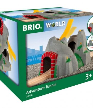 Zdjęcie BRIO 33481 Tunel z mostem i dźwiękami - producenta RAVENSBURGER