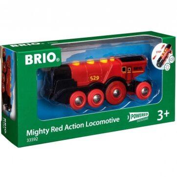 Zdjęcie BRIO 33592 Lokomotywa klasyczna czerwona - producenta RAVENSBURGER