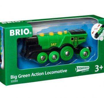 Zdjęcie BRIO 33593 Lokomotywa klasyczna zielona - producenta RAVENSBURGER