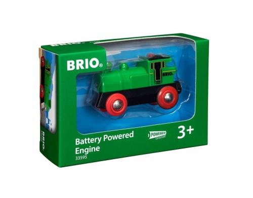 Zdjęcie BRIO 33595 Parowóz zielony - producenta RAVENSBURGER