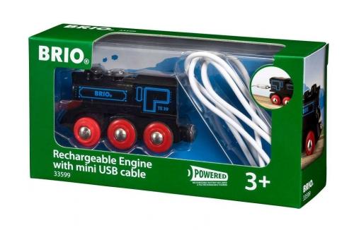 Zdjęcie BRIO 33599 Lokomotywa klasyczna z USB - producenta RAVENSBURGER